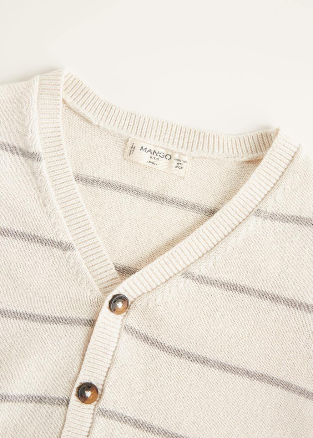 Mango - Cárdigan textura algodón - 4