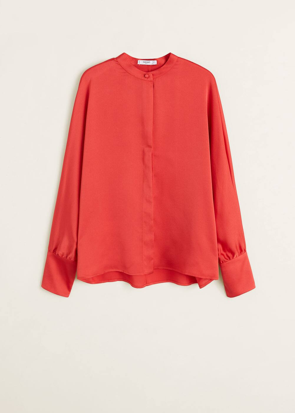 Mango - Satin blouse - 7