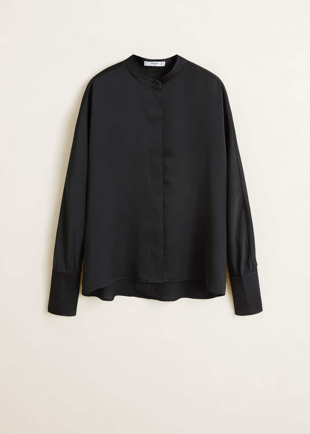 Mango - Satin blouse - 6