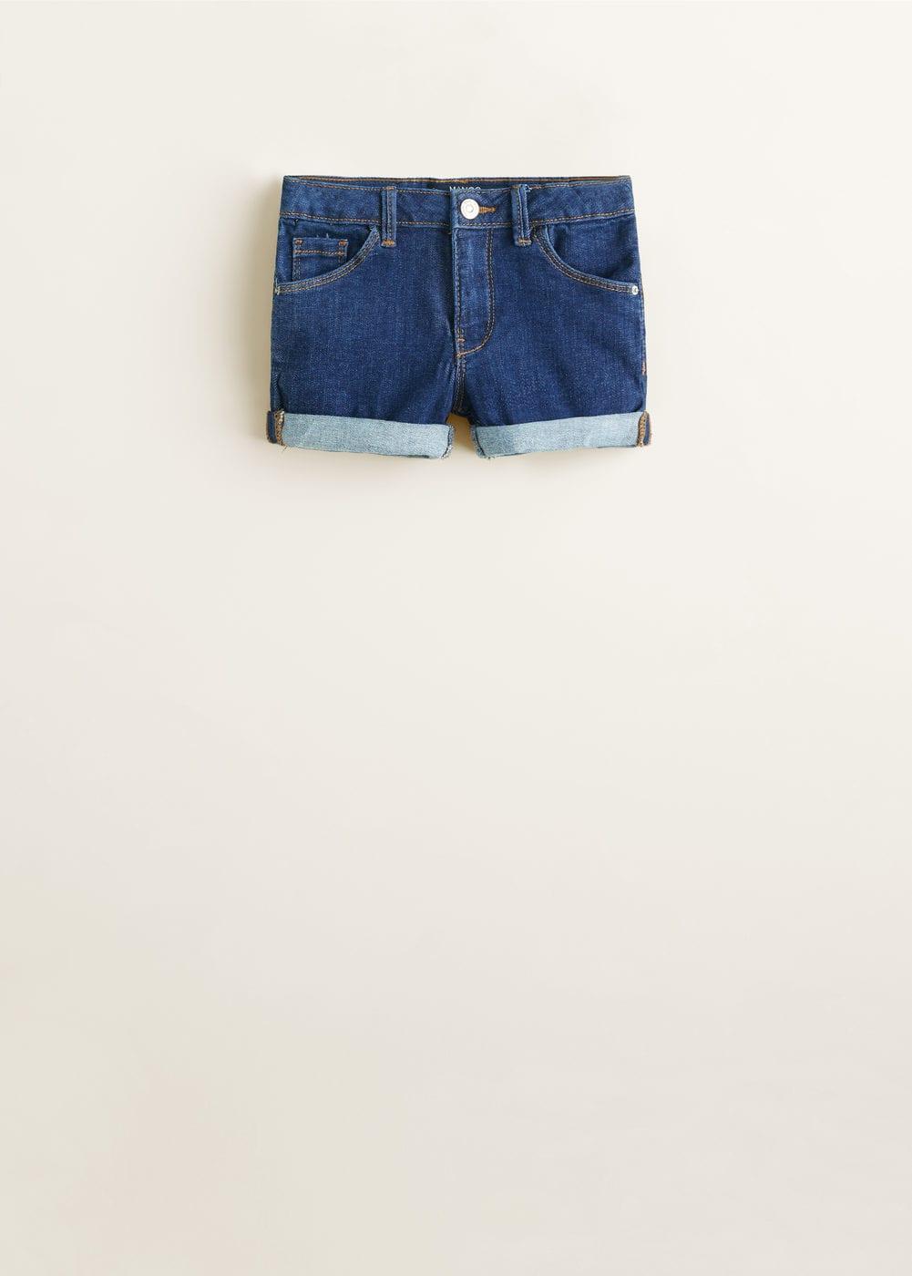 Mango - Jeansshorts mittlere Waschung  - 3