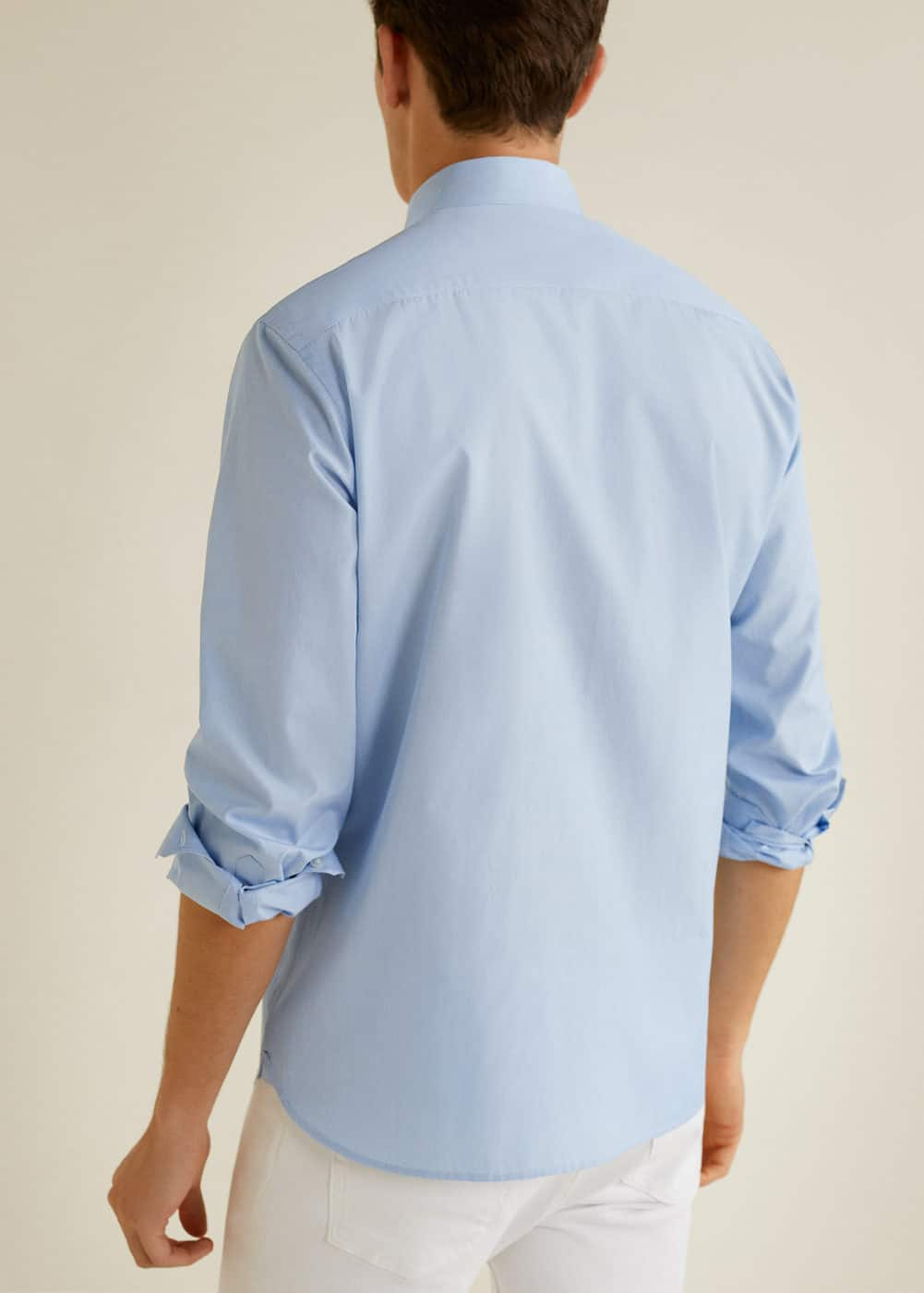 Mango - Camisa regular-fit algodón - 3