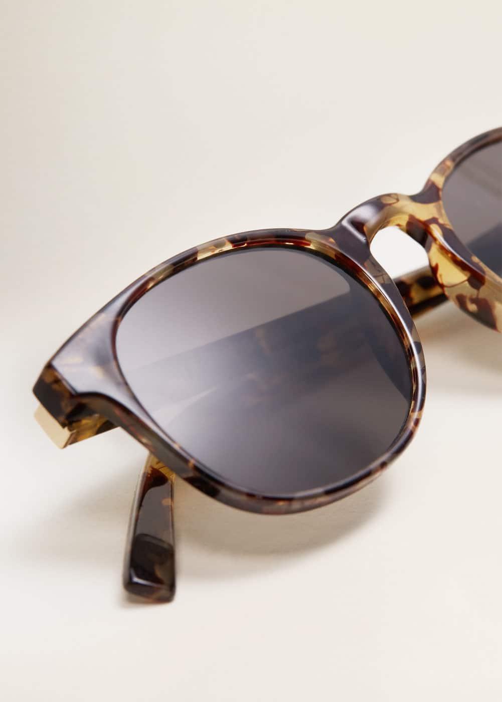 Mango - Gafas de sol retro carey - 3
