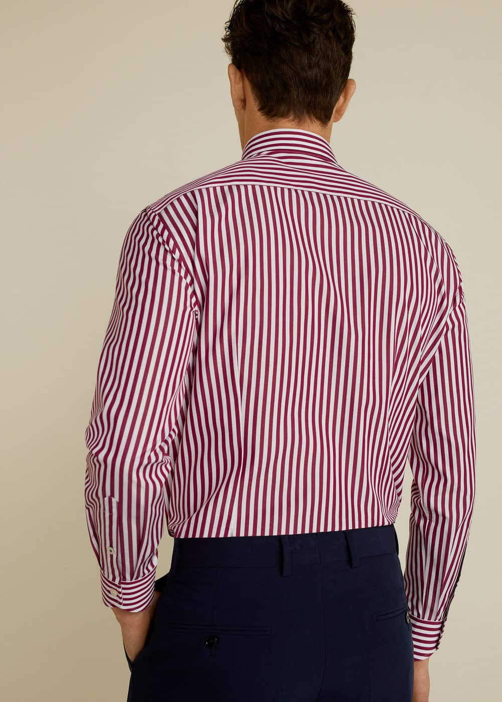 Mango - Slim Fit Tailored-Hemd, Baumwolle - 3