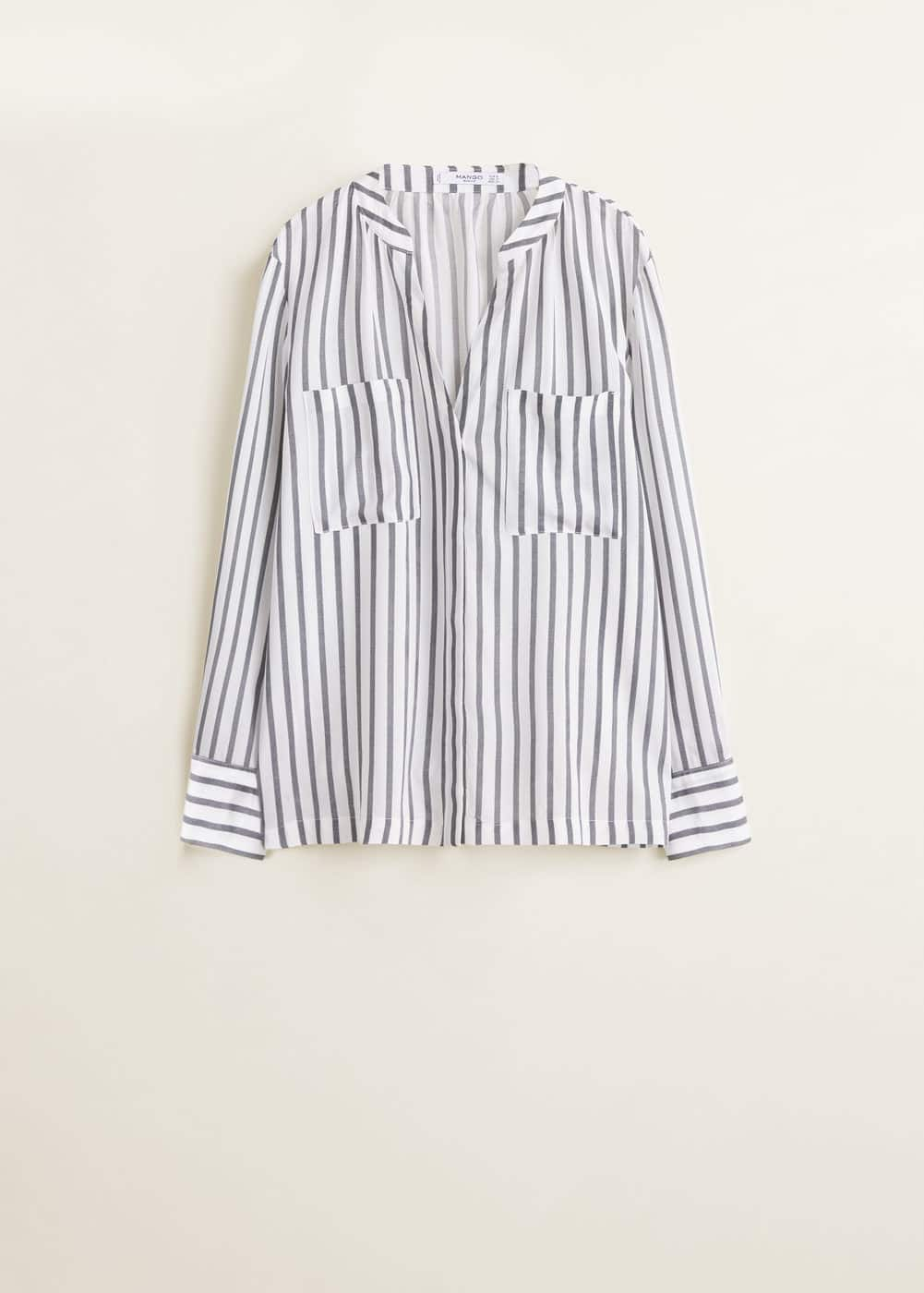 Mango - Camisa bolsillos - 6