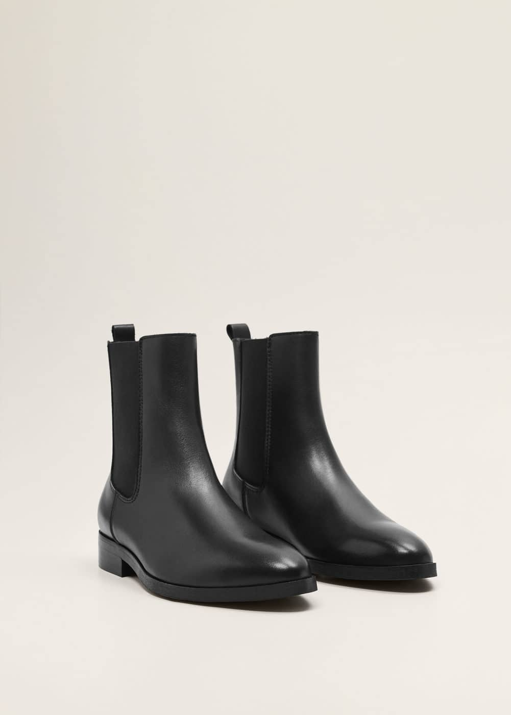 "<Font Style=""Vertical Align: Inherit;""><Font Style=""Vertical Align: Inherit;"">Leather Chelsea Boots</Font></Font> by Mango"