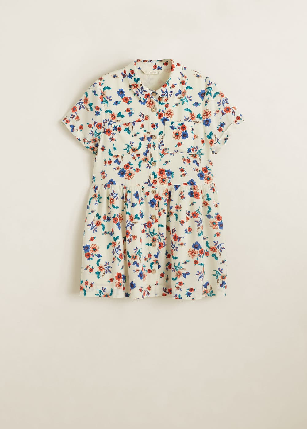 Mango - Floral shirt dress - 3