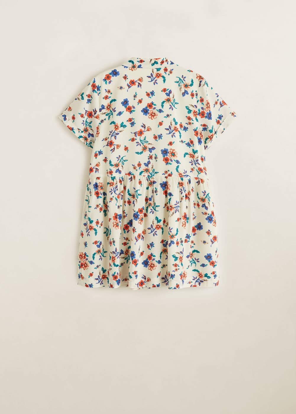 Mango - Floral shirt dress - 5