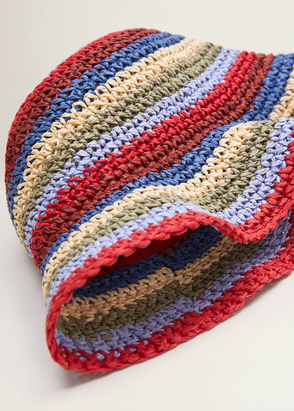 Braided Bucket Hat by Mango