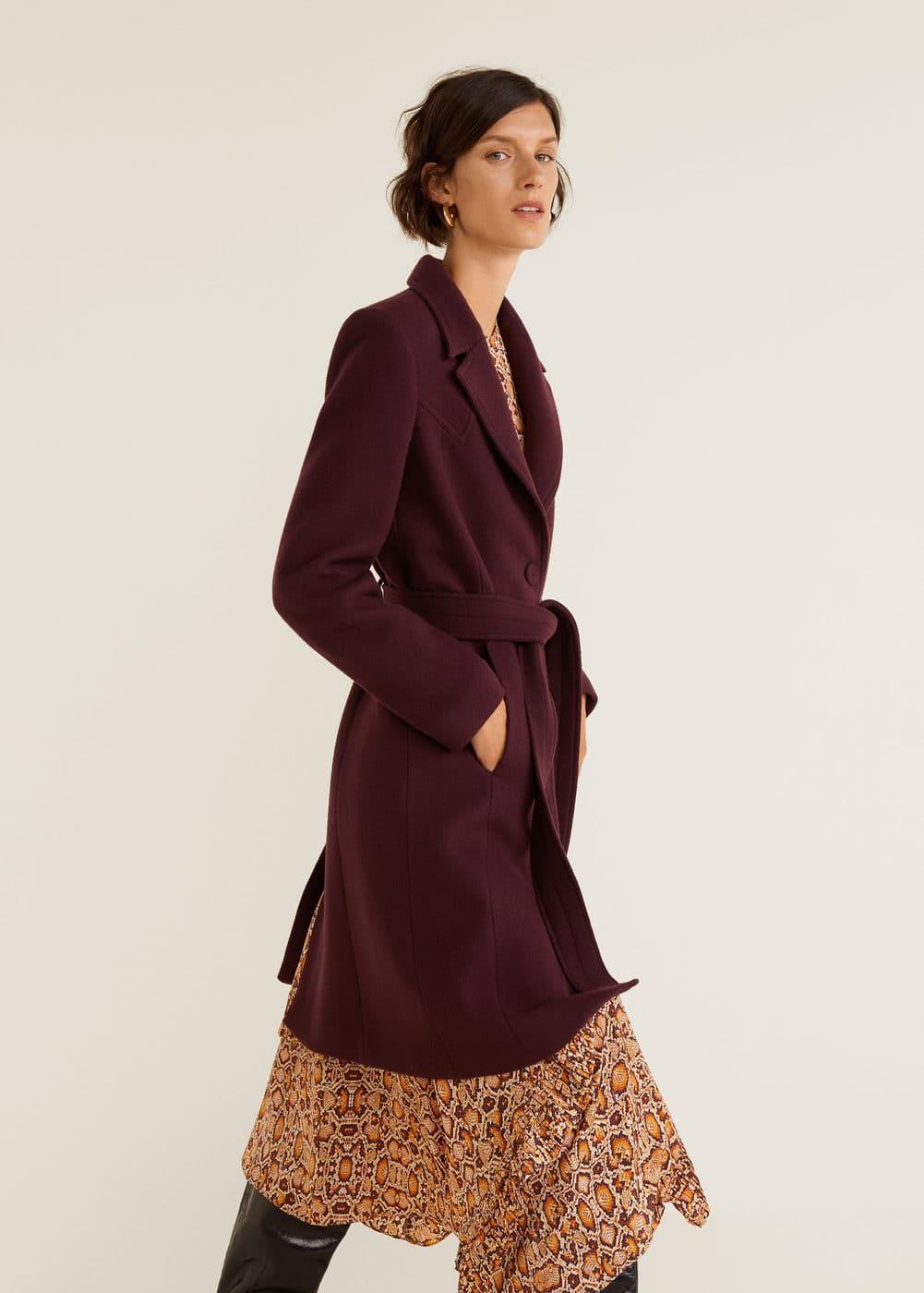 Mango - Structured wool coat - 6