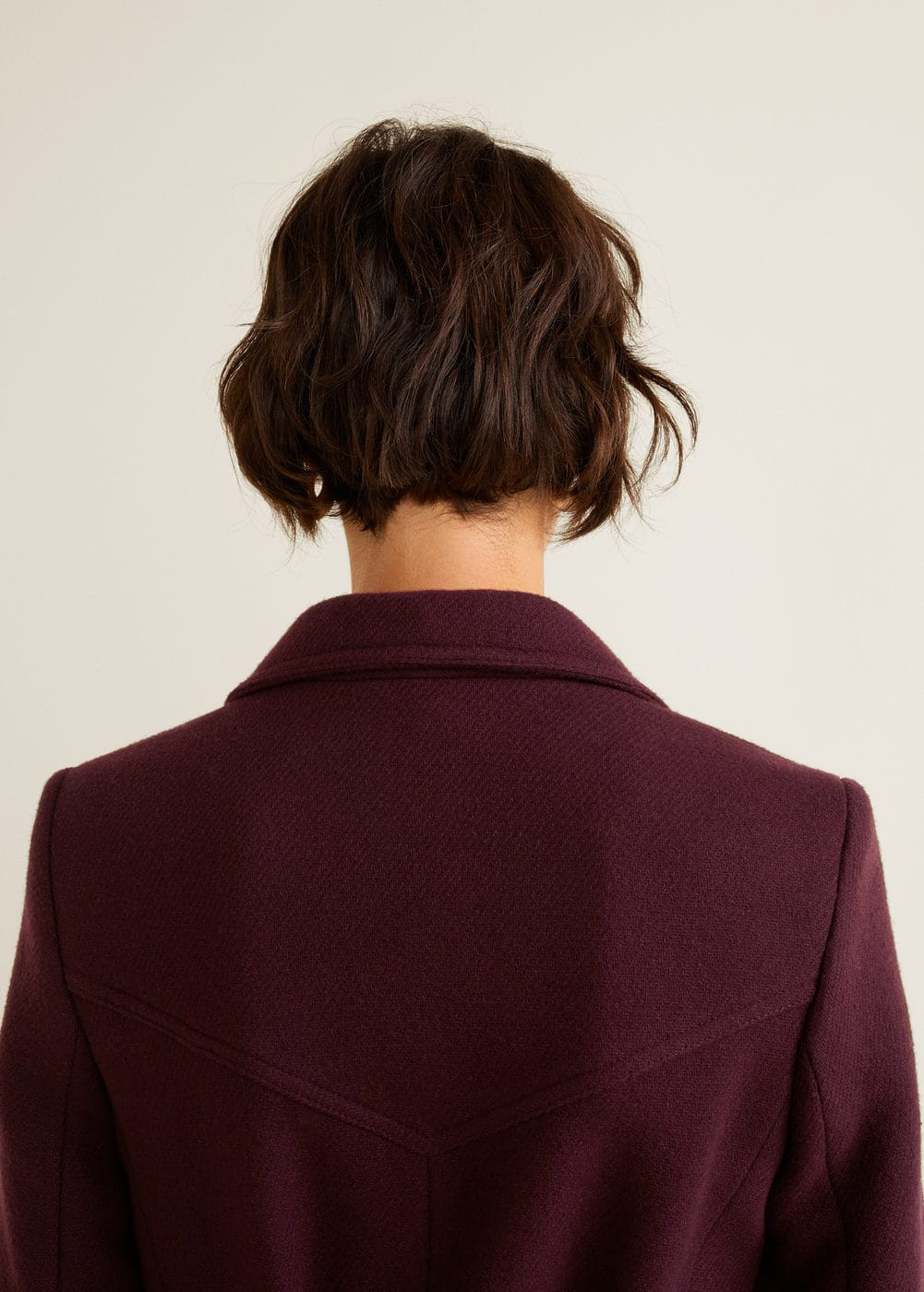 Mango - Structured wool coat - 7