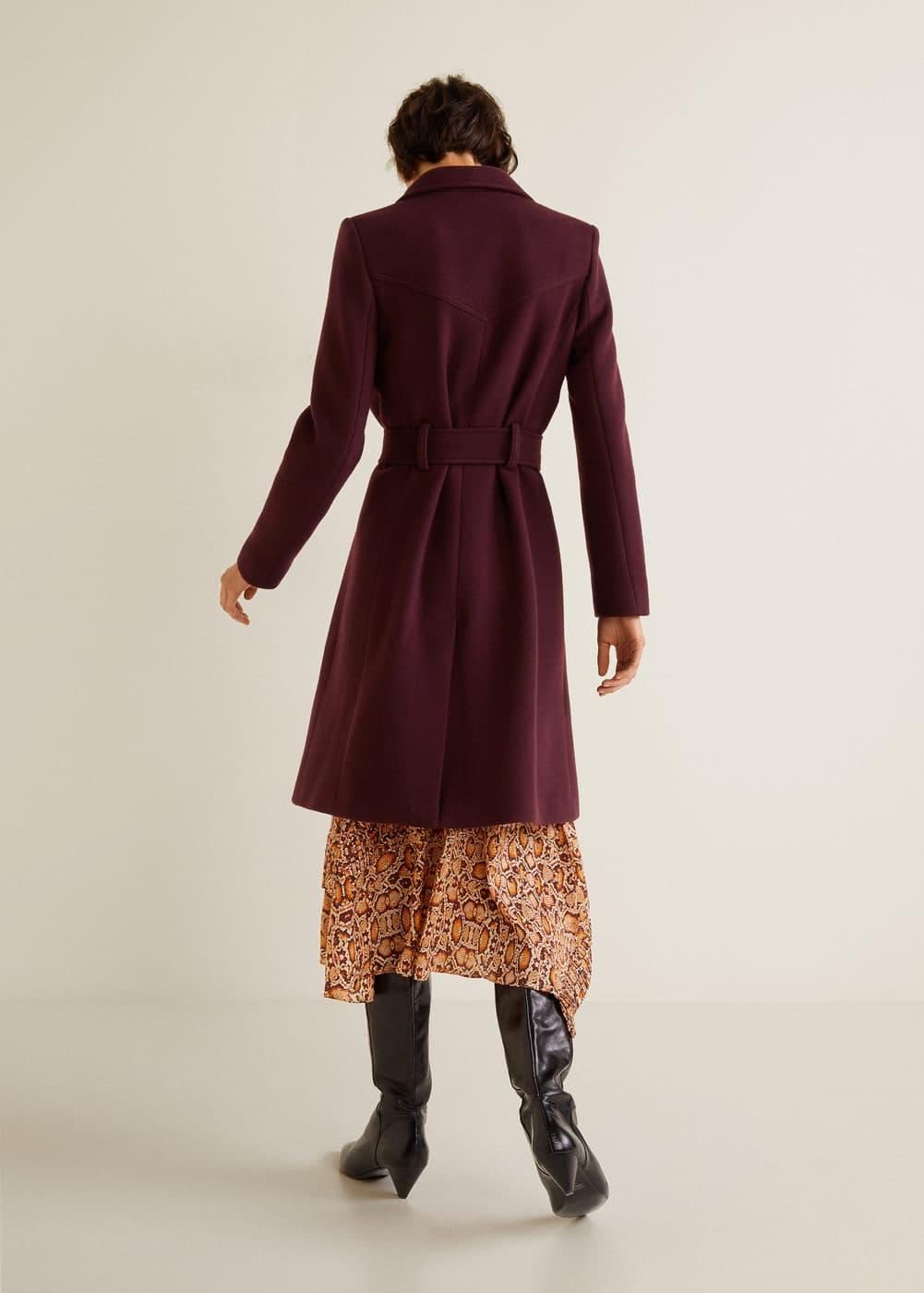 Mango - Structured wool coat - 3