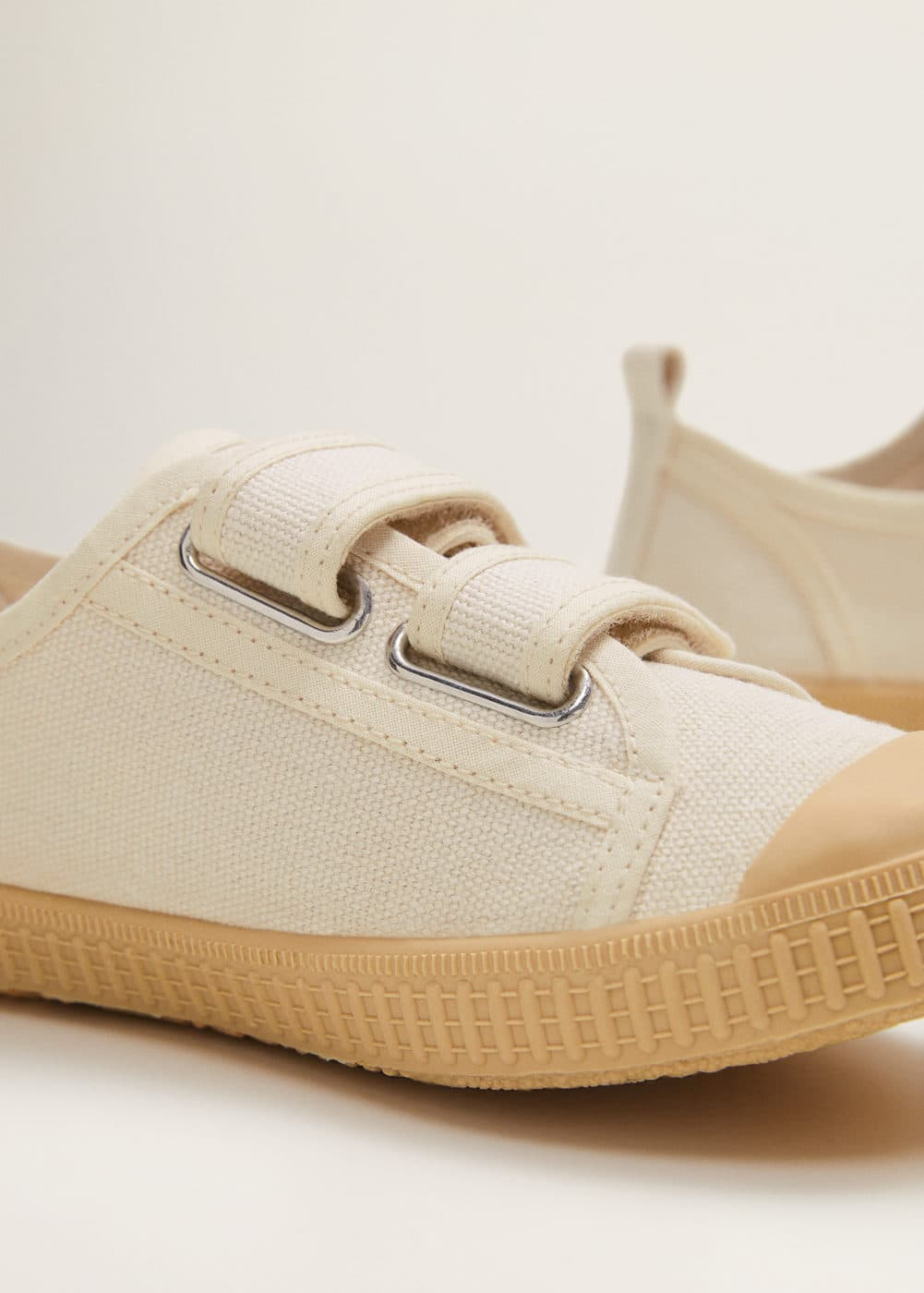 Mango - Velcro fastening straps sneakers - 5