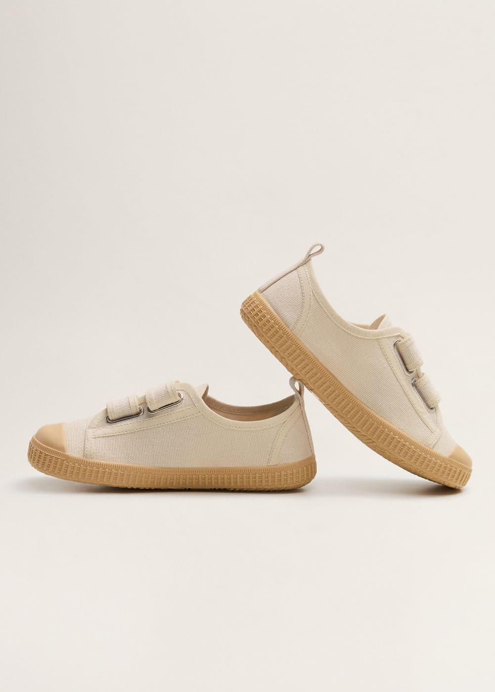 Mango - Velcro fastening straps sneakers - 6