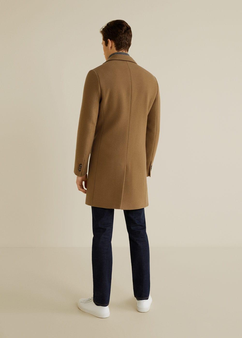 Mango - Structured virgin wool coat - 3