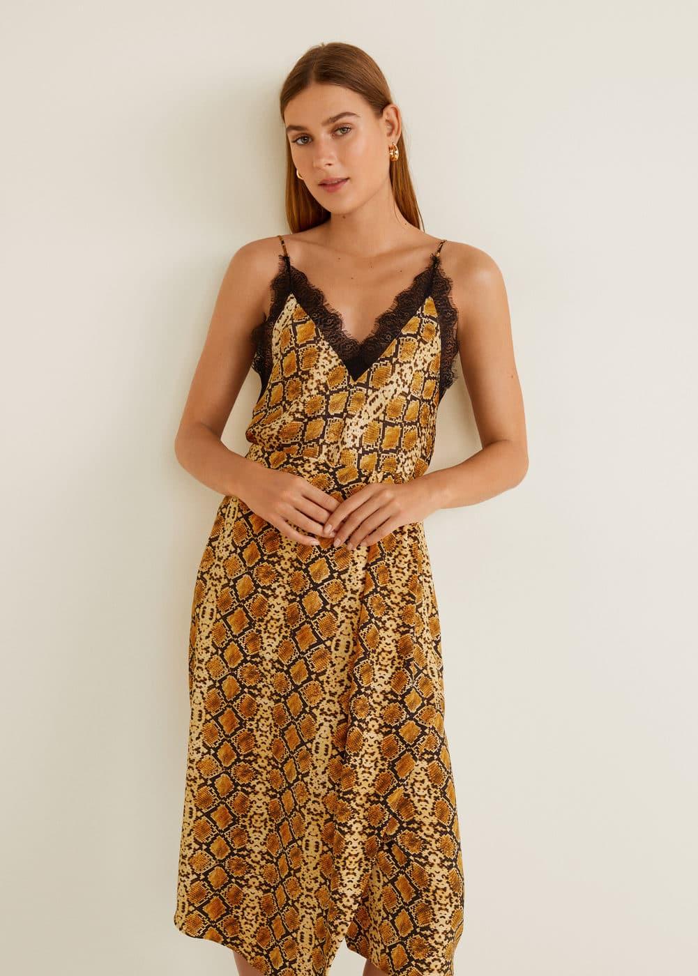 Snake print skirt -  Woman | OUTLET Latvia