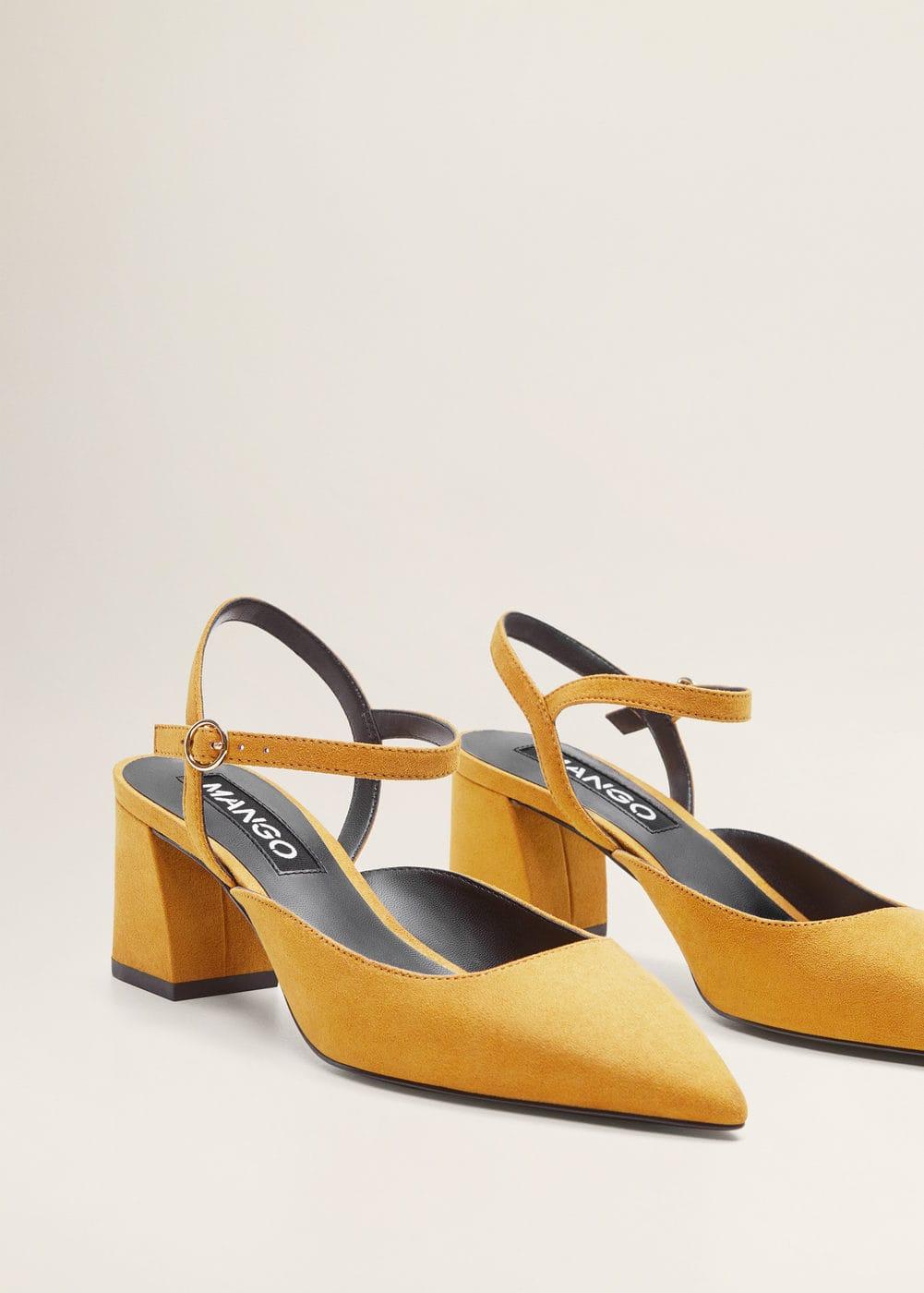Mujer Tacón Mango Zapato España Destalonado pExnp1zU