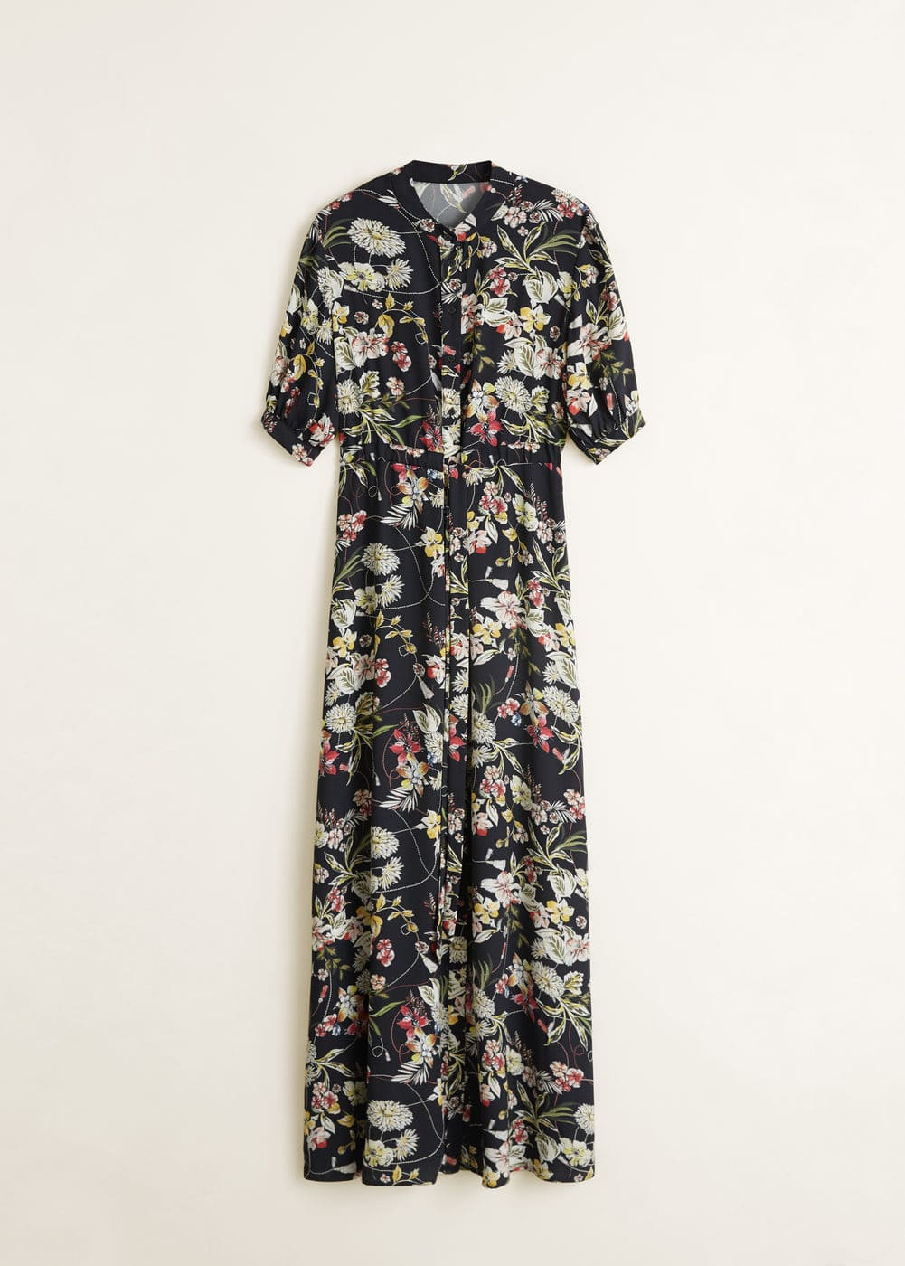 Mango - Embossed flower gown - 6