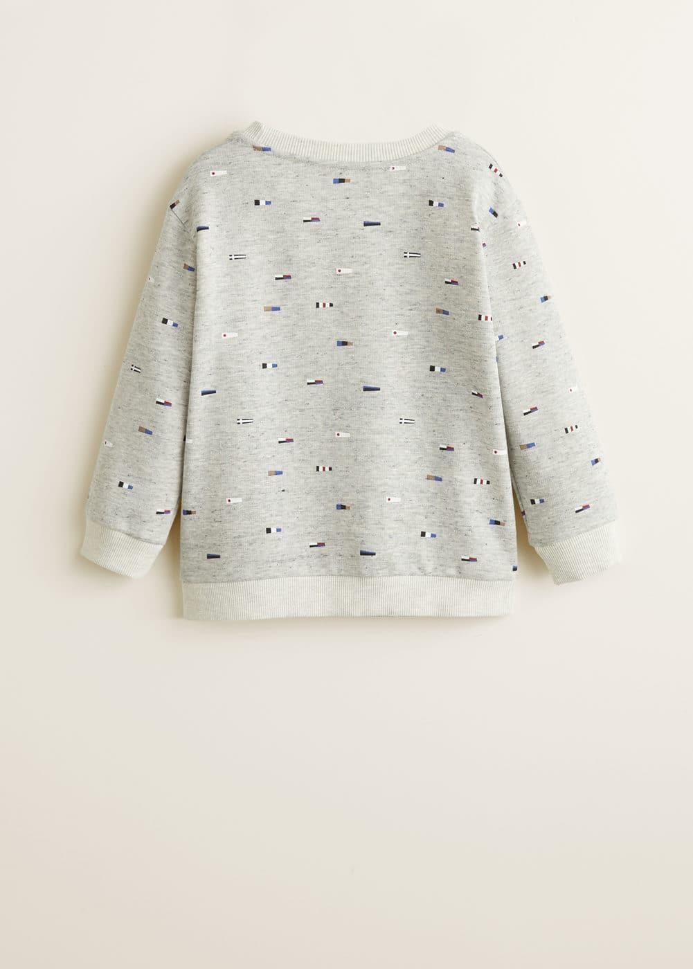 Mango - Printed cotton sweatshirt - 5