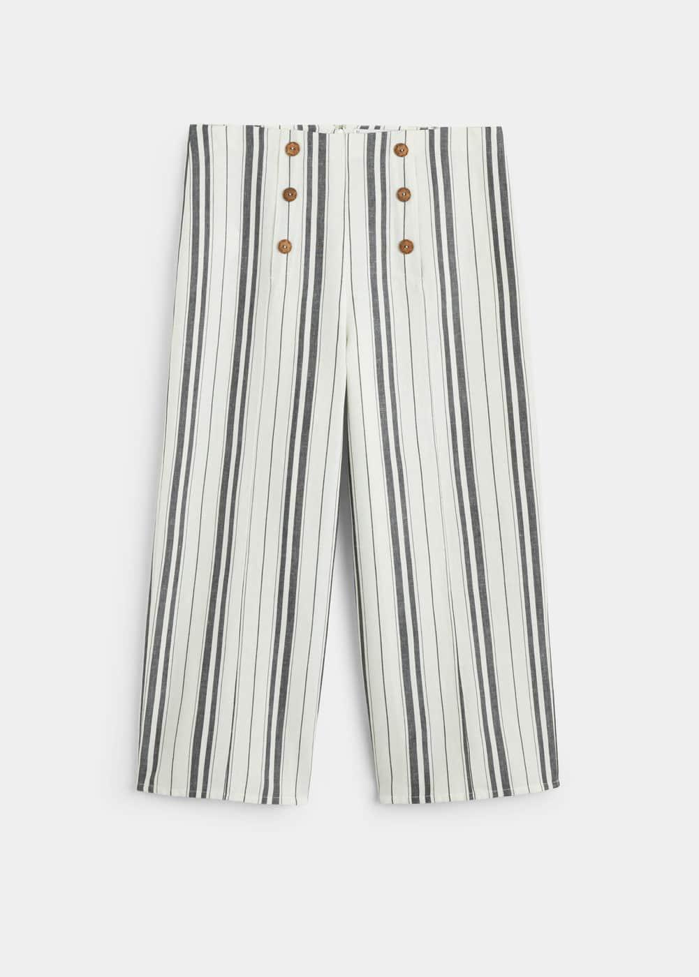 Mango - Double button trousers - 7