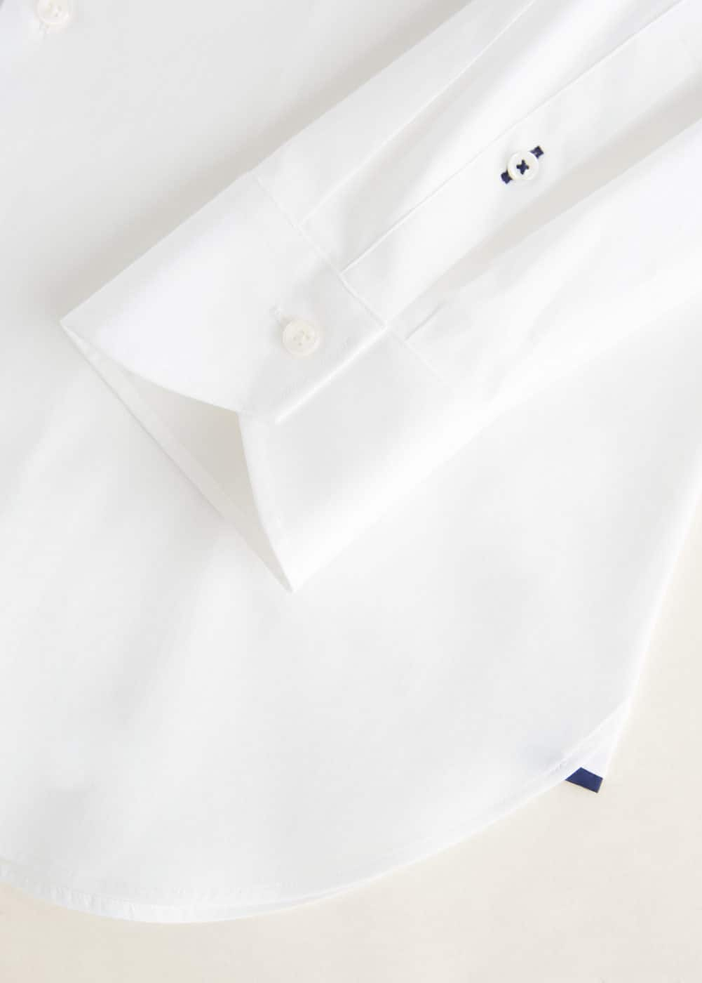 Mango - Slim-fit Tailored stretch cotton shirt - 6