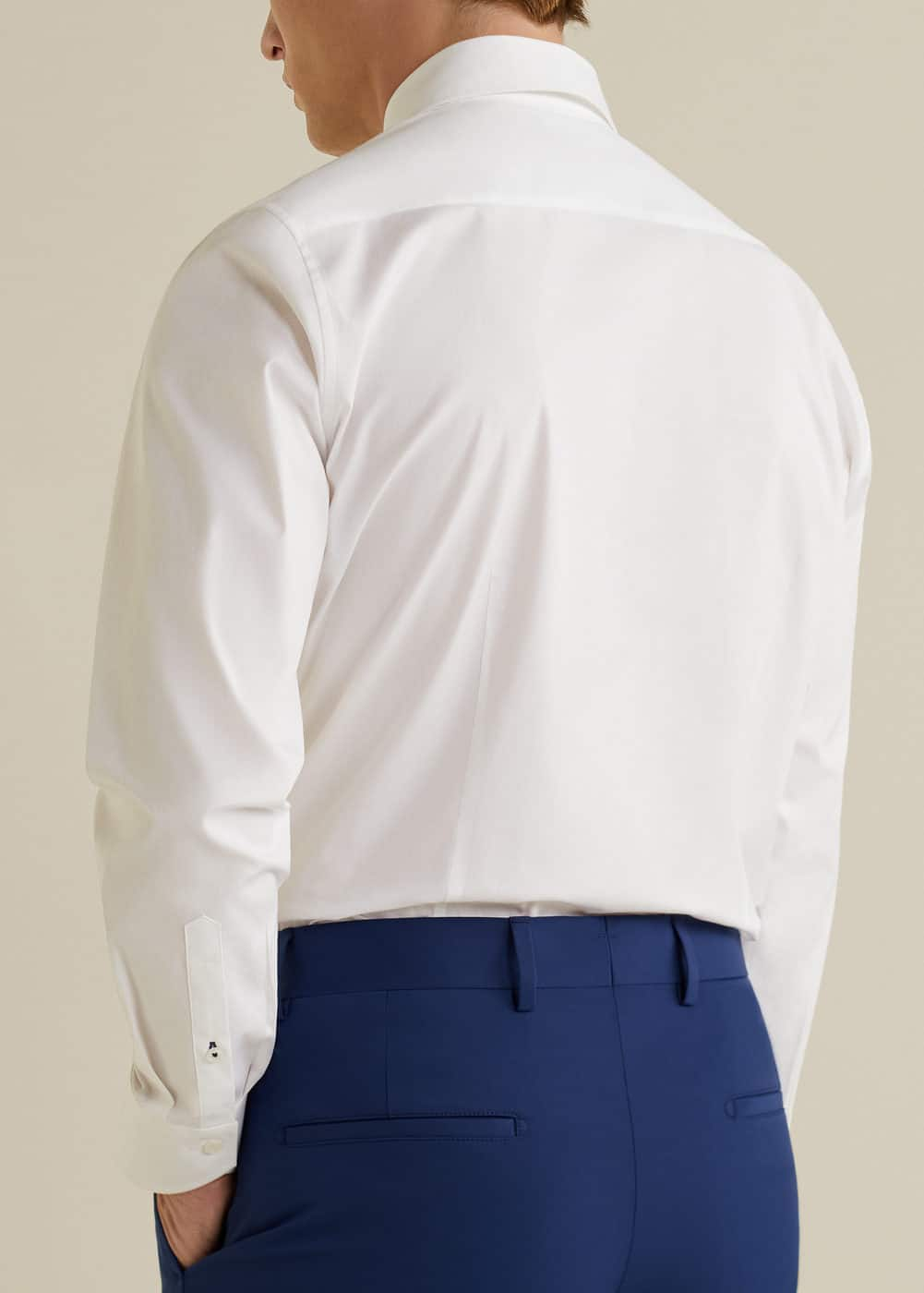 Mango - Slim-fit Tailored stretch cotton shirt - 3
