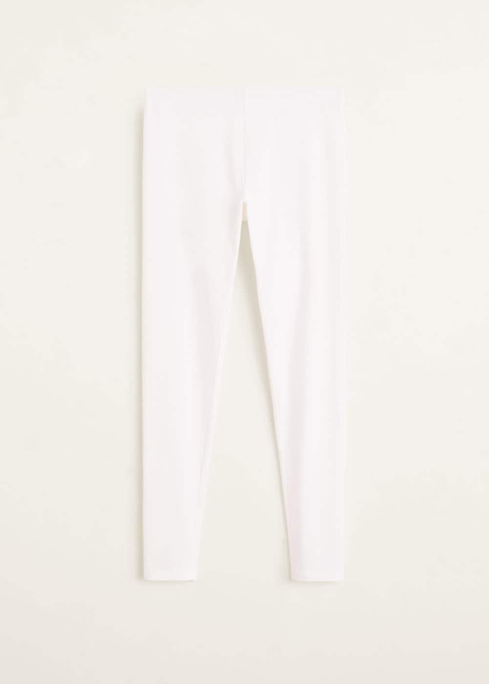Mango - Leggings básicos algodón - 5