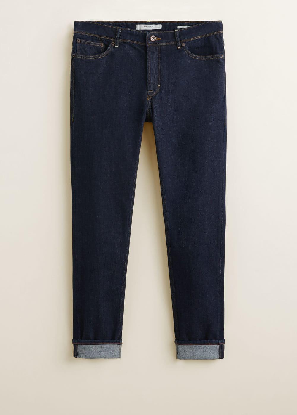Mango - Jeans Tim slim-fit lavado oscuro - 7