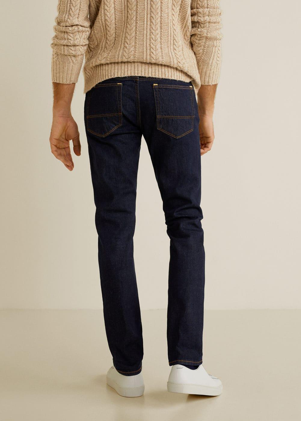Mango - Jeans Tim slim-fit lavado oscuro - 3