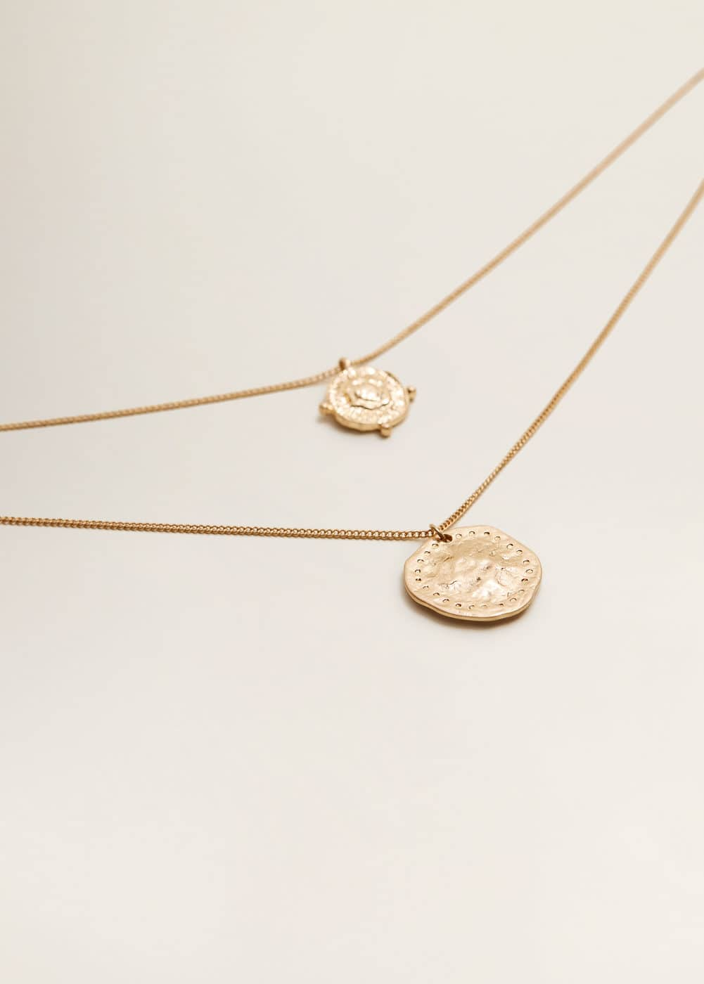 Mango - Coin waterfall necklace - 3