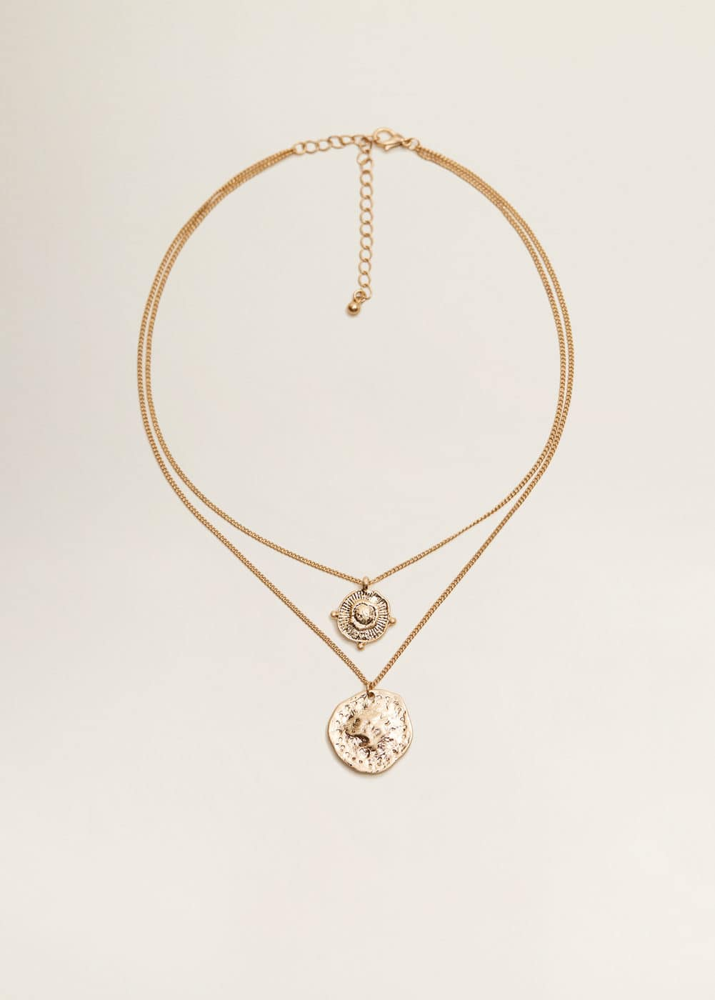 Mango - Coin waterfall necklace - 2