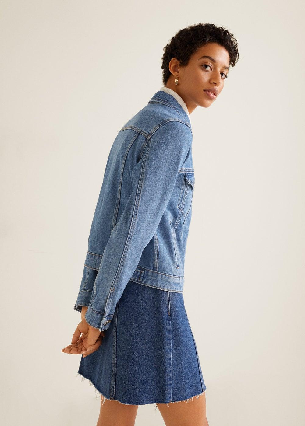 Mango - Pocketed denim jacket - 6