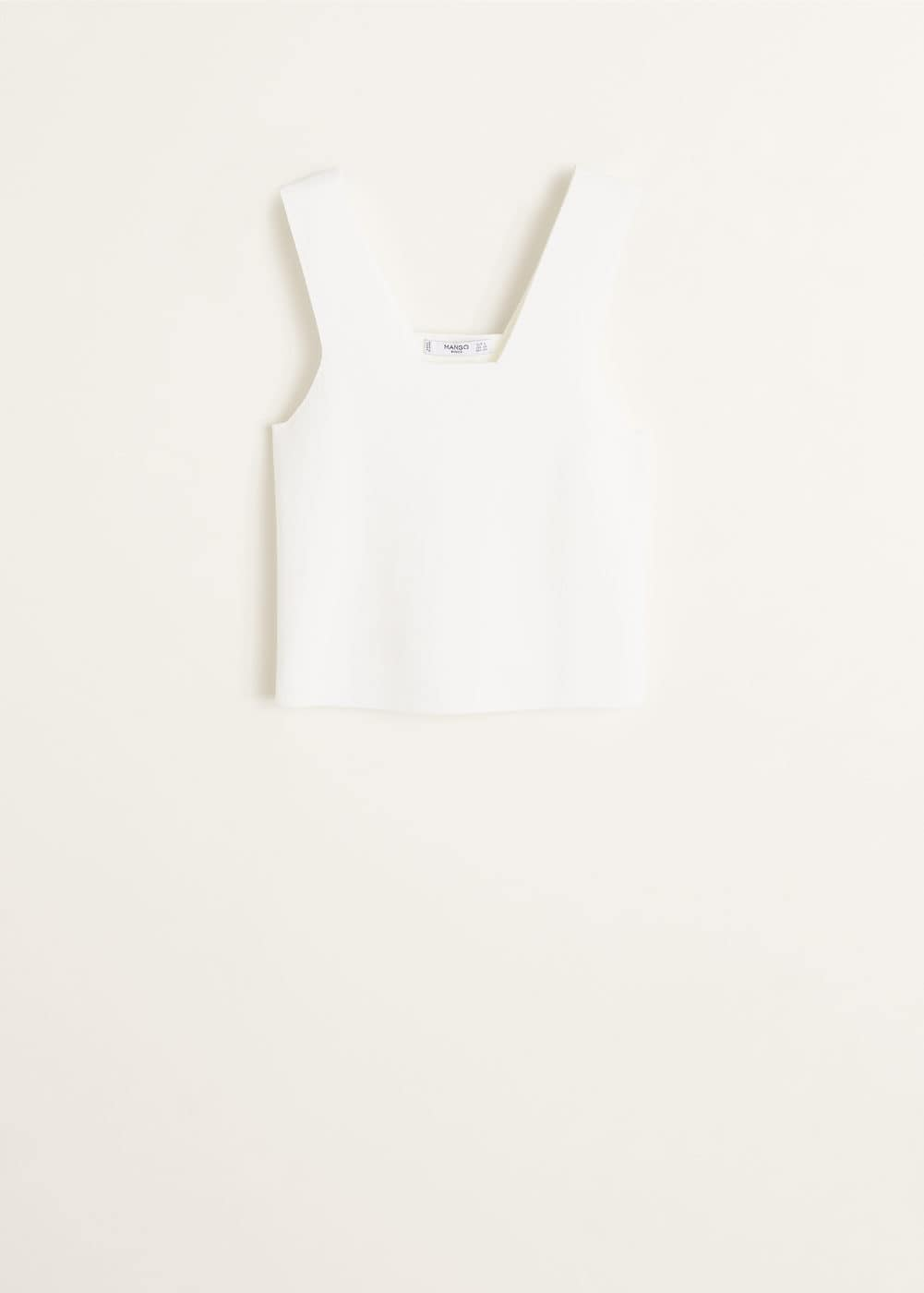 Top Van Gerecycled Polyester by Mango