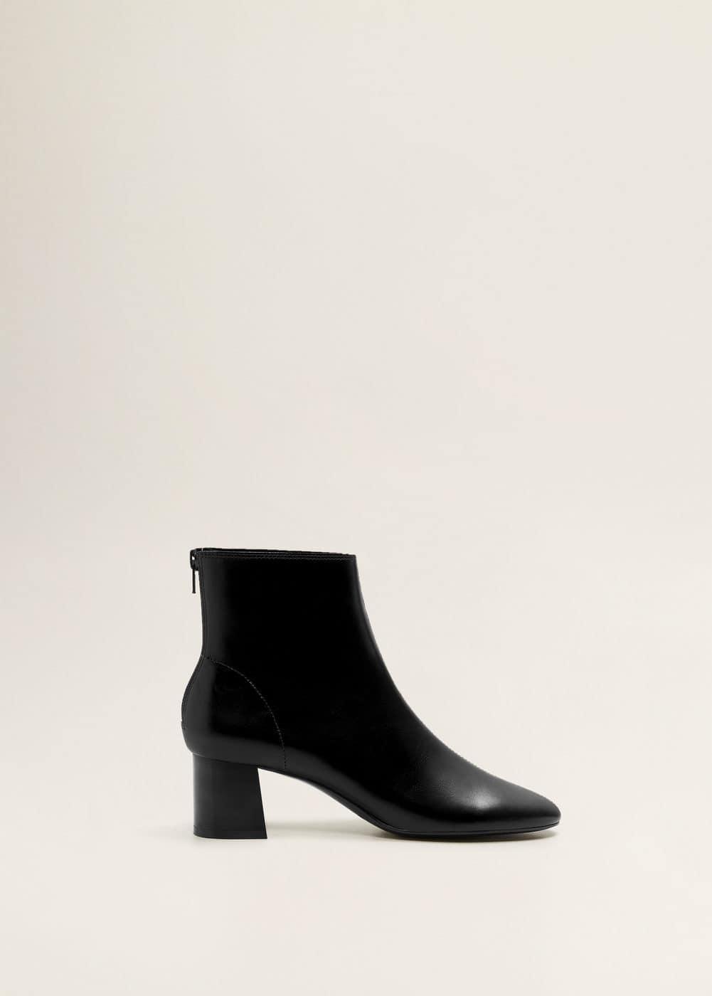 Mango - Heel leather ankle boot - 2