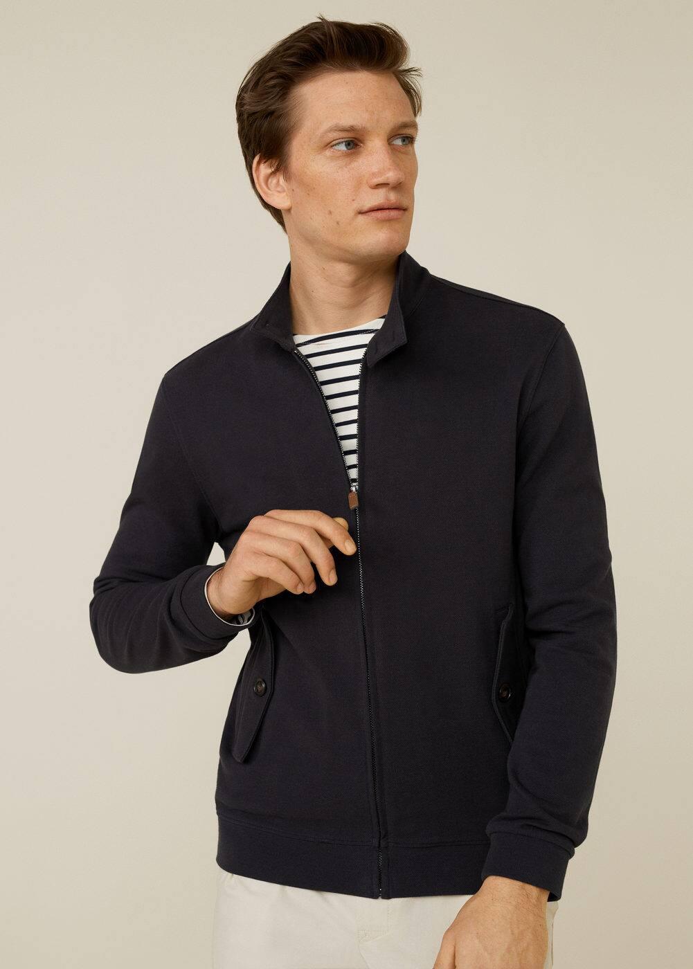 Cotton Piqué Jacket by Mango
