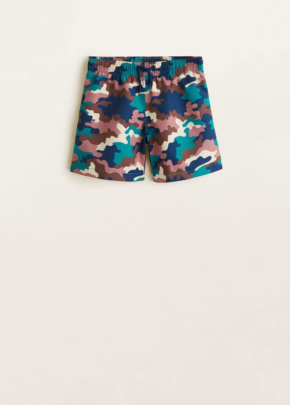 Mango - Maillot de bain imprimé camouflage - 1