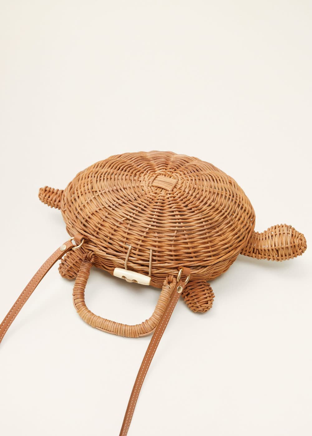 Turtle Coffer Bag by Mango
