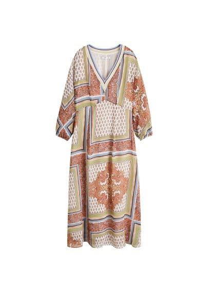 mango - Kleid mit paisley-muster