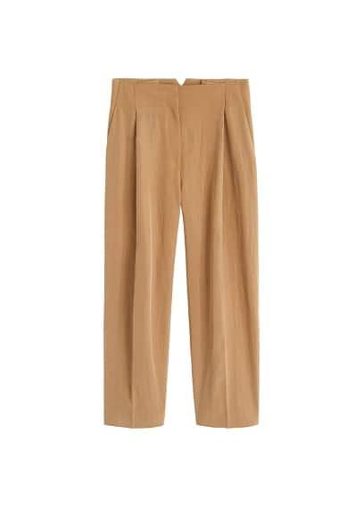 Dekoratif pilili pantolon Karamel Ürün Resmi