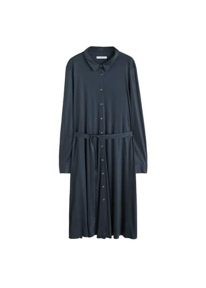 Violeta BY MANGO Belt shirt dress