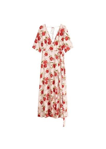 mango - Kleid mit blumendruck