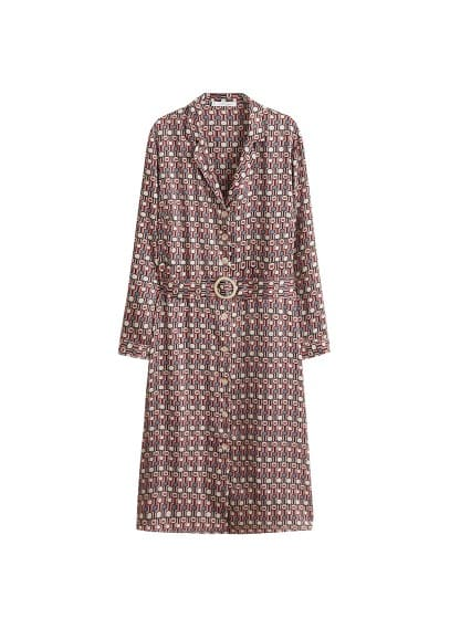 Violeta BY MANGO Printed shirt dress