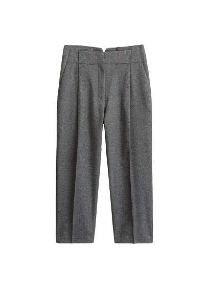 Pantalon de costume jaspé