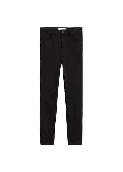Skinny Noa jean pantolon Siyah denim Ürün Resmi