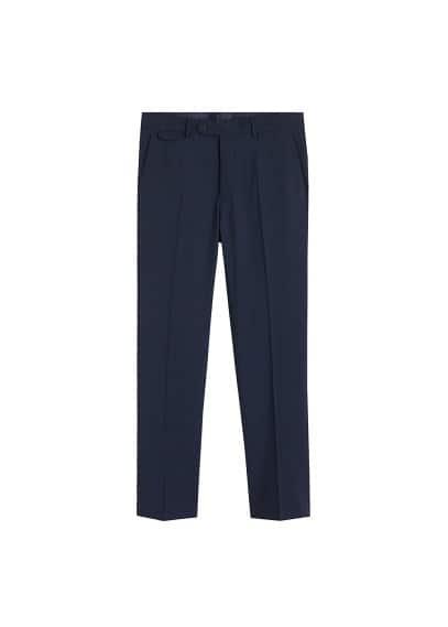 Yünlü Travel Suit pantolon Mavi Ürün Resmi