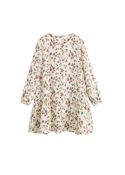 MANGO KIDS Floral print dress