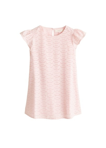 MANGO KIDS Broderie anglaise dress