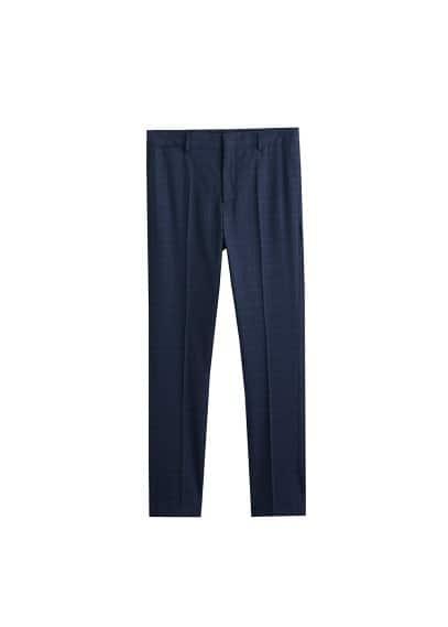 Süper dar kesimli takım pantolonu Lacivert Ürün Resmi