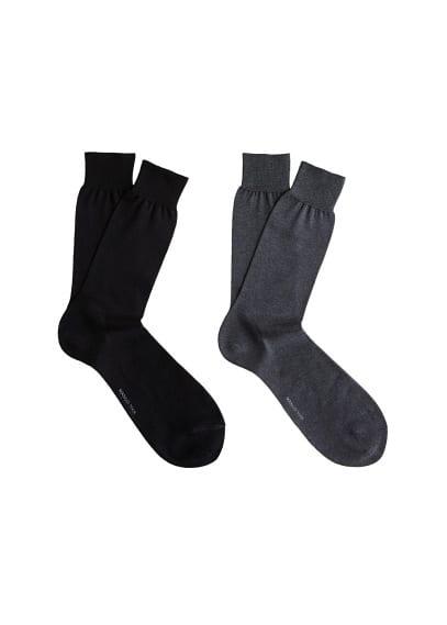 2 li desensiz çorap Siyah Ürün Resmi