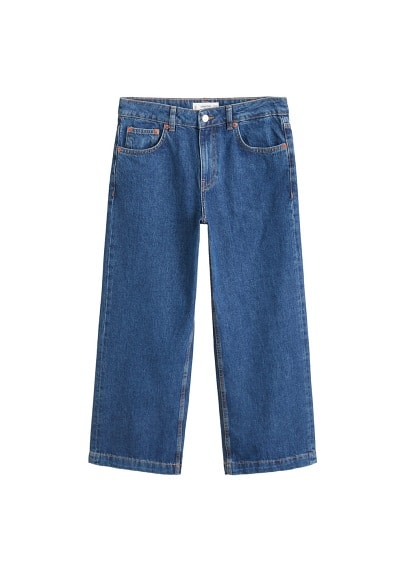 Jean relaxed culotte