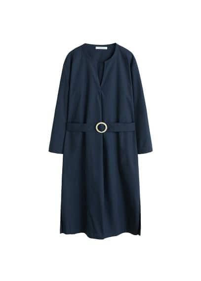 Violeta BY MANGO Cotton shirt dress
